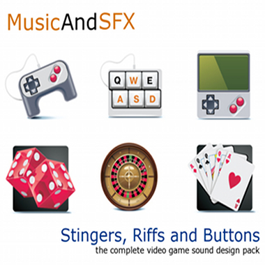 Stingers, Riffs and Buttons | The Complete Video Game Sound Design Pack